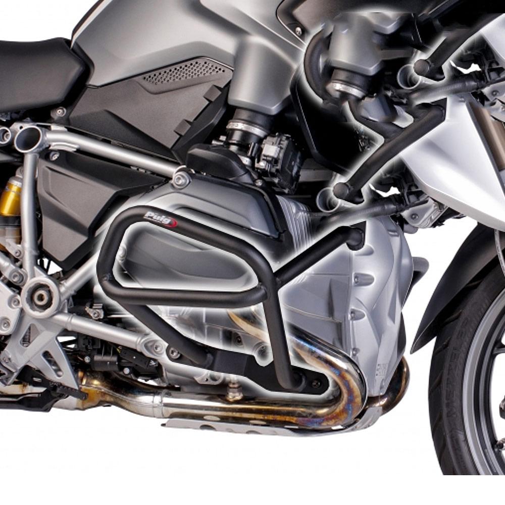 Bmw R1200gs 2013 Puig Motorcycle Engine Guard Black Crash