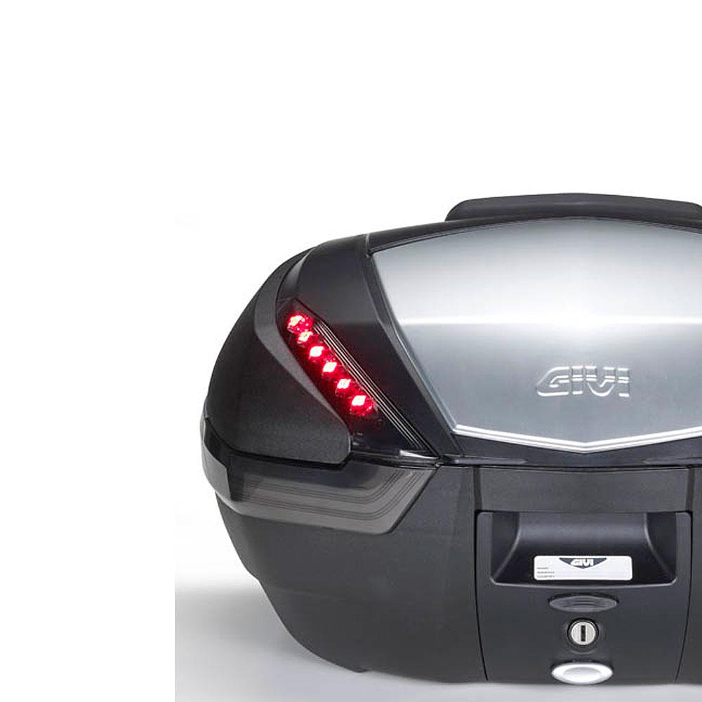 givi e135 led stop light kit for v47 top case box ebay. Black Bedroom Furniture Sets. Home Design Ideas